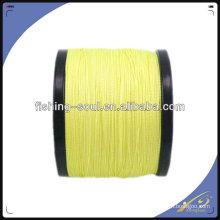 BRLN003 Lignes jaunes, fils de tresse