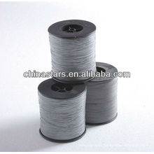 High visibility grey color 100% polyester Reflective Yarn