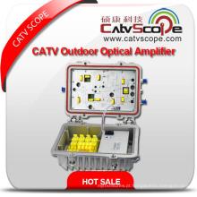 1GHz 40db CATV Bi-Direcional Linha Tronco Agc Controle Amplificador