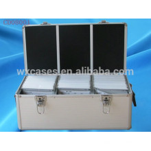 boîtier CD de haute qualité 510 CD disques en aluminium vend en gros fabricant, Chine