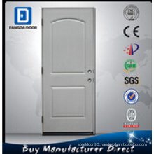 Durable 2 Panel Arch Steel Door