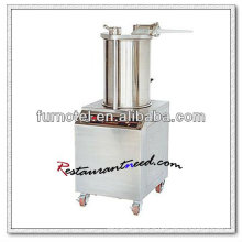 F168 Stainless Steel Manual Sausage Filler