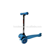 cheap high quality kick scooters for child with led light wheels
