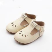 Bufanda Hebilla Lacework Baby Dress T Bar Zapatos