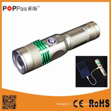 Power Bank Rechargeable LED Flashlight