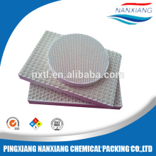 Infrared gas heaters Ceramic honeycomb infrared plate