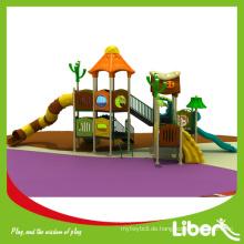 Vorschule Outdoor Plastic Slide mit GS Zertifikat genehmigt Fabrik Preis LE-YG052
