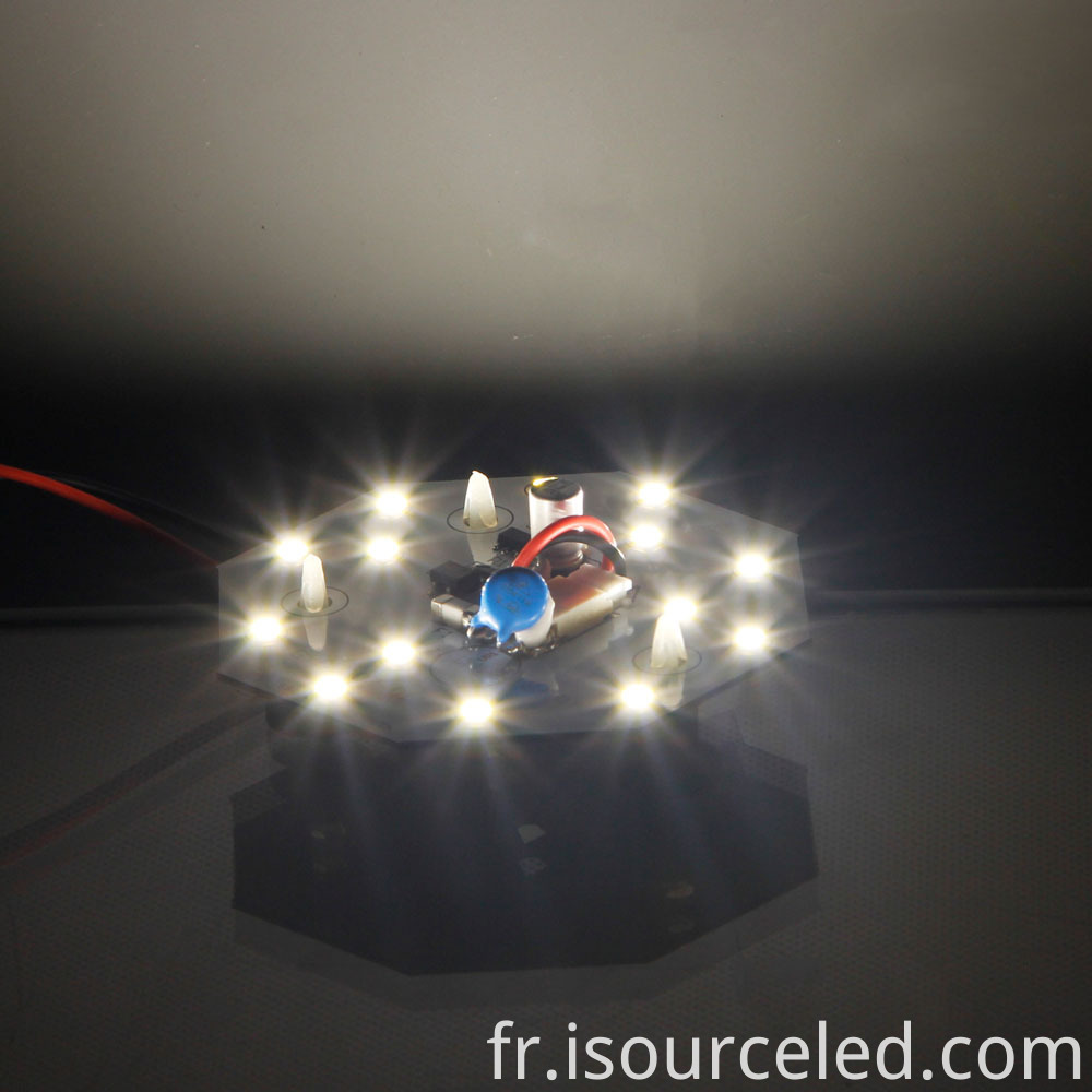 Warm white light 5W LED ceiling light module light