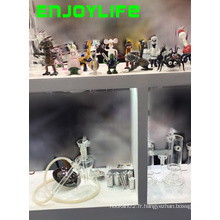 Tubes de verre Enjoylife, tuyaux d'eau de verre fumant avec expédition rapide