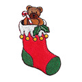 Christmas Festive Gingerbread House Embroidery Emblem