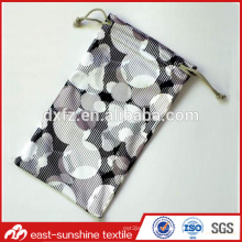 Customized drawstring sunglasses microfiber bag,Custom printed microfiber sunglass drawstring pouch