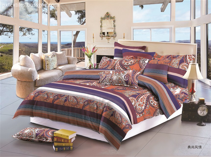 Polyester Printed Bedding Sets