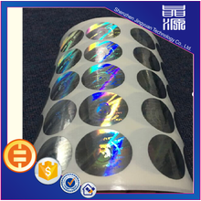 Security Self Adhesive 3D Hologram Sticker