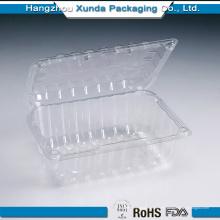 Venta al por mayor Blister transparente plástico para el envase de almacenamiento de frutas