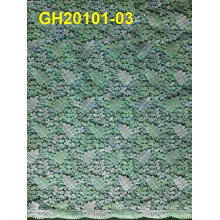 High Quality Lace Fabric, African Cord Lace Fabric, White Cord Lace Fabric