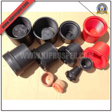 Protectores de rosca de tubería de tubería de taladro de plástico (YZF-C247)