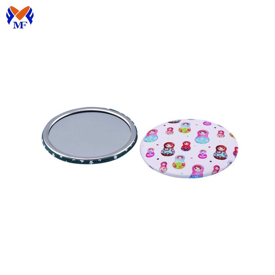Pocket Round Makeup Mirror