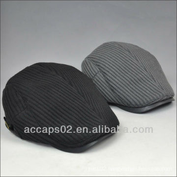 Black piping beret headwear Shenzhen