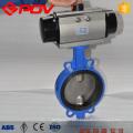 1 Zoll Gusseisen Wafer pneumatische Absperrklappe