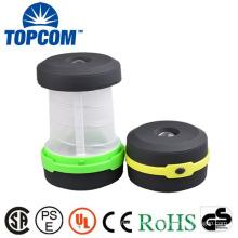 Cheapest camping light 3 mode waterproof 250 lumens mini flashlight foldable camping led lantern