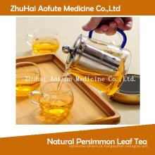 Chá natural da folha do caqui (erva antidiabética)