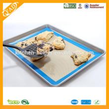 China Professional Hersteller FDA Food Grade Spülmaschine Safe Fiberglas Non Stick Backmatte
