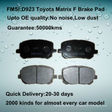 OE calidad Toyota Matrix disco de freno de disco D923
