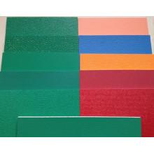 Revêtement de sol en PVC / vinyle pour les cours intérieures et extérieures