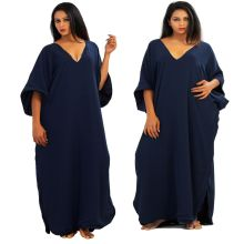 Mode-Design Muslim Abaya Kaftan für Frau Großhandel (XY23)