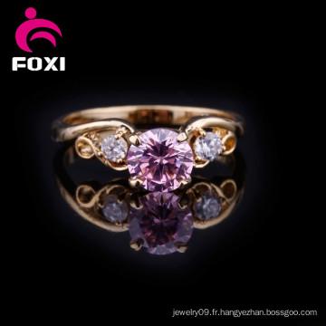Anneau de doigt de mariage en or Fashion Design