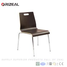 Sillas de Comedor Apilamiento de Muebles de Loft Industrial de Metal OZ-1020