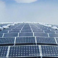 Photovoltaic Solar Panel with Mono and Poly Crystalline Modules