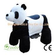 coche eléctrico bebé panda grande