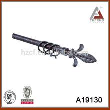 A19130 алюминиевая пластиковая занавеска, отделка карнизов штока, карнизы