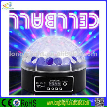 Christmas magic ball 6*3W RGB led disco light mirror ball