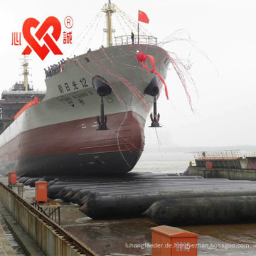 XINCHENG HERGESTELLT IN CHINA Marine Unterwasserbergungsgummiairbag / Marinegummiairbags