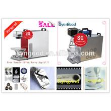 Máquina da marcação do laser da fibra de Syngood SG10F / SG20F / SG30F-Special para a etiqueta de cão em branco