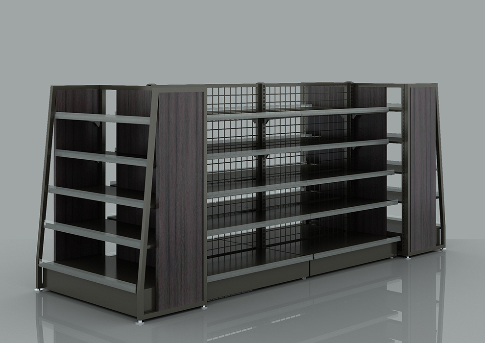 Metal Backplane Display Rack