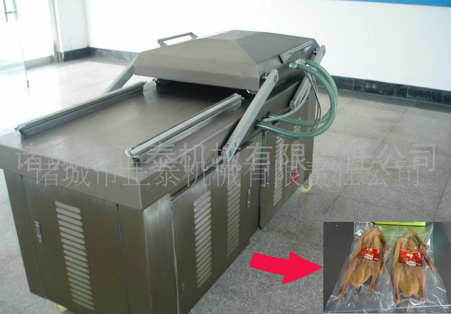 Frozen Chicken DZ600/2S Vacuum Packing Machine