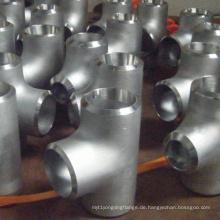 Dnv-Stoß-Schweißens-nahtloses Duplex- / Edelstahl-Rohr-Installations-T-Stück