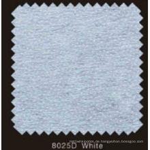 Weiße Farbe Non Woven Double DOT schmelzbares Interlining mit PA-Pulver (8025D weiß)