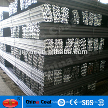 Chinese standard steel rail / light rail for mining and crane