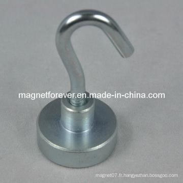 Puissant crochet de porte magnétique en néodyme pour le ménage