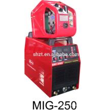 Inverter co2 MMA soldador MIG 250 máquina de soldadura de aluminio