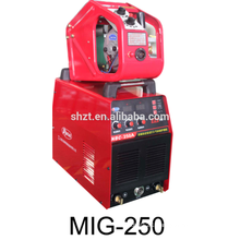 Inverter co2 MMA welder MIG 250 aluminium welding machine