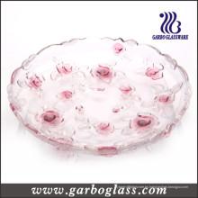 Placa de cristal de Rose roja (GB1708MG / PDS)