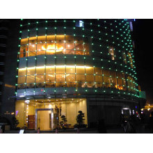 Flexible Ip68 Ph100mm Dip346 1r1g1b Static Outdoor Led Display Board For Building Lighting