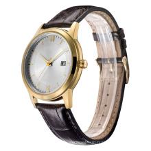 Nouvelle montre de quartz de style de 2016, montre d'acier inoxydable de mode pour Hl-Bg-111