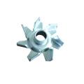 Roue à aubes de ventilateur en aluminium de coutume d'usine