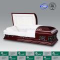 Porta-LUXES estilo americano Pieta folheado caixões para venda